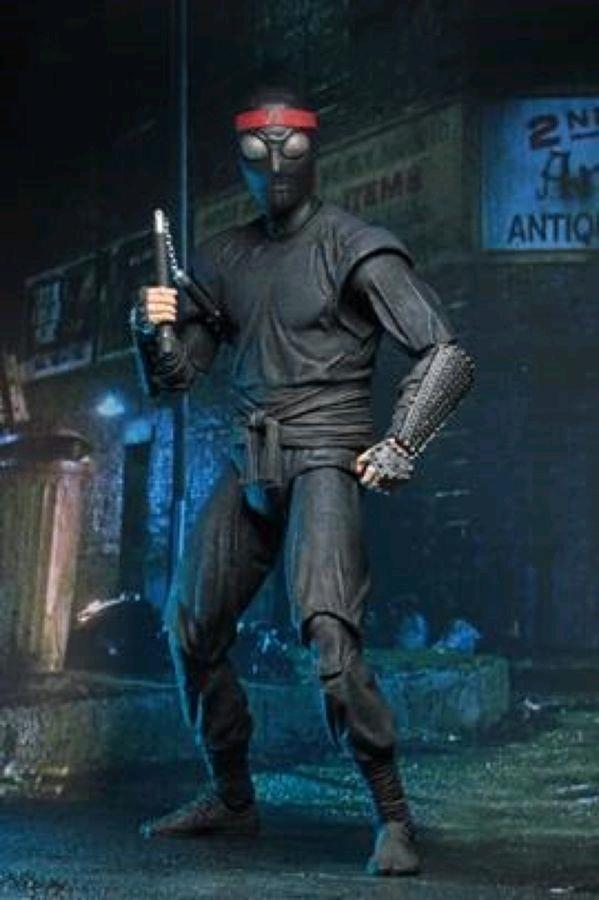 """Teenage Mutant Ninja Turtles (1990) - Foot Soldier Melee 17cm(7"""") Action Figure"""