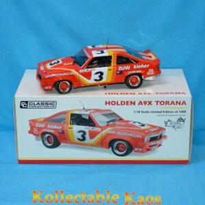 1:18 Classics - 1977 Bathurst - Holden A9X Torana - Jane/Geoghegan