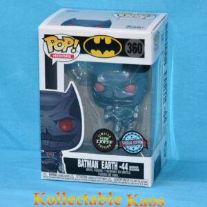 Batman - Murder Machine Batman Metallic Glow in the Dark Pop! Vinyl Figure