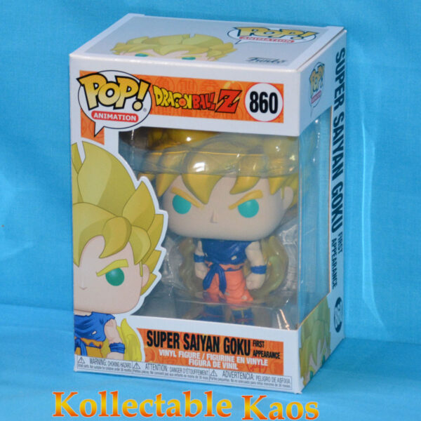 Dragon Ball Z - Super Saiyan Goku 1st Appearance Pop! Vinyl Figure