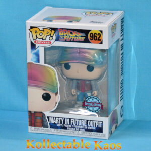 Back to the Future Part II - Marty McFly in Future Outfit Metallic Pop! Vinyl Figure