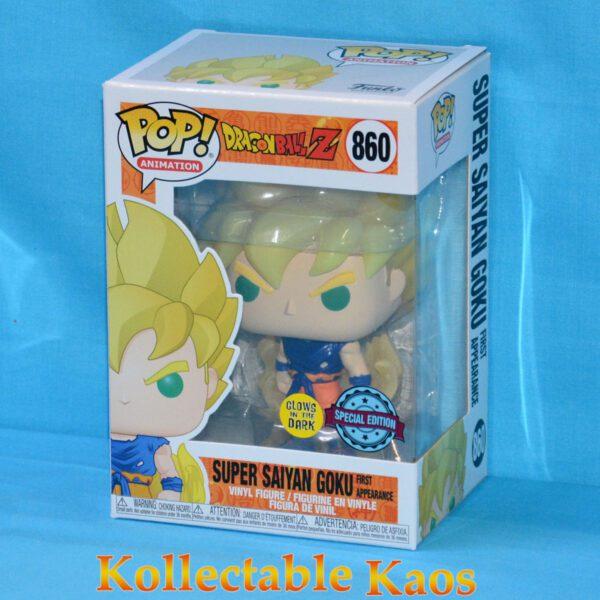 Dragon Ball Z - Super Saiyan Gohan in Green Suit Glow in the Dark Pop! Vinyl Figure