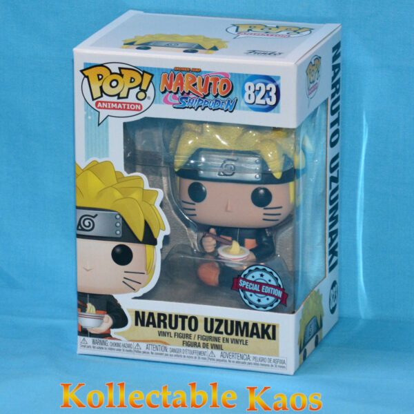 Naruto: Shippuden - Naruto with Noodles Pop! Vinyl Figure