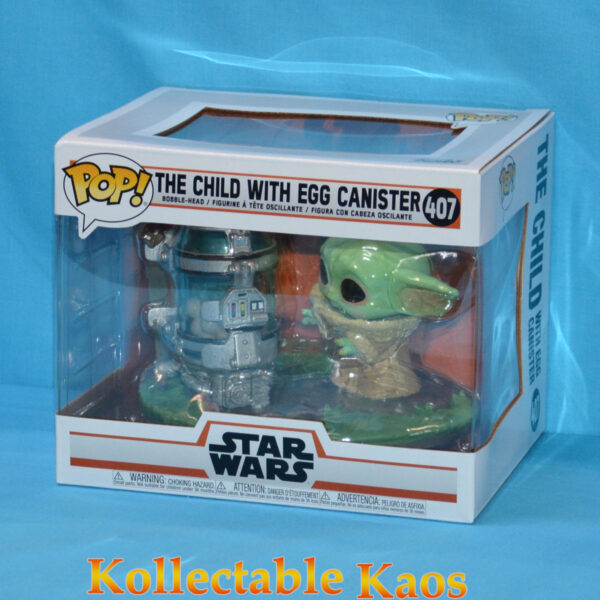 Star Wars: The Mandalorian - The Child with Egg Canister Deluxe Pop! Vinyl Figure