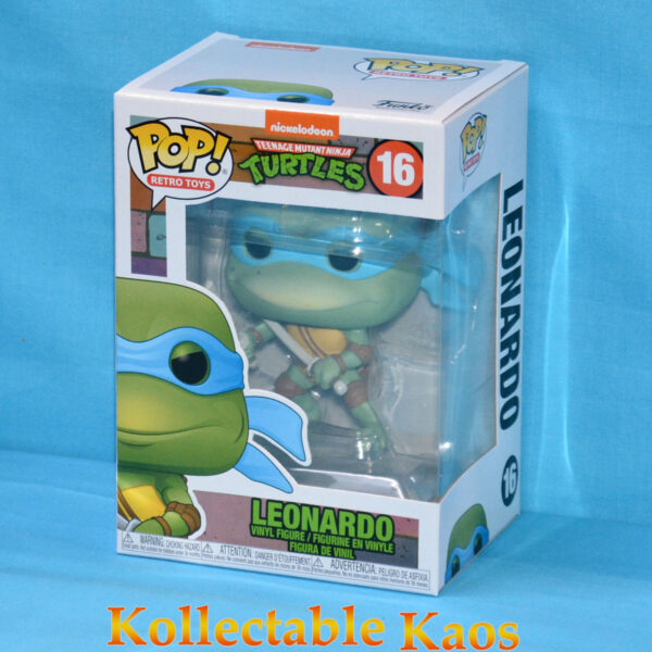 Teenage Mutant Ninja Turtles (1990) - Leonardo Pop! Vinyl Figure