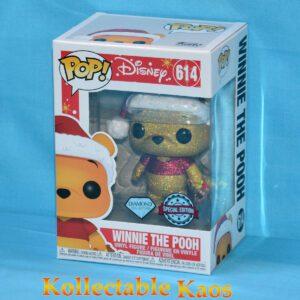 Winnie-the-Pooh - Winnie-the-Pooh Holiday Diamond Glitter Pop! Vinyl Figure