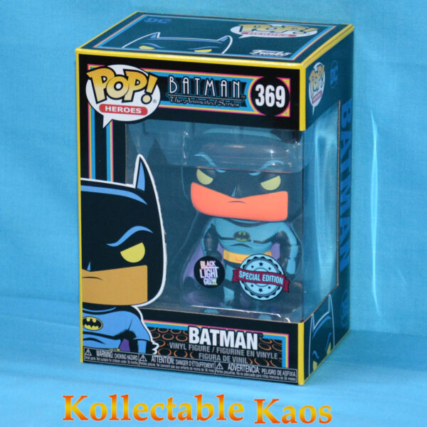 Batman: The Animated Series - Batman Blacklight Pop! Vinyl Figure
