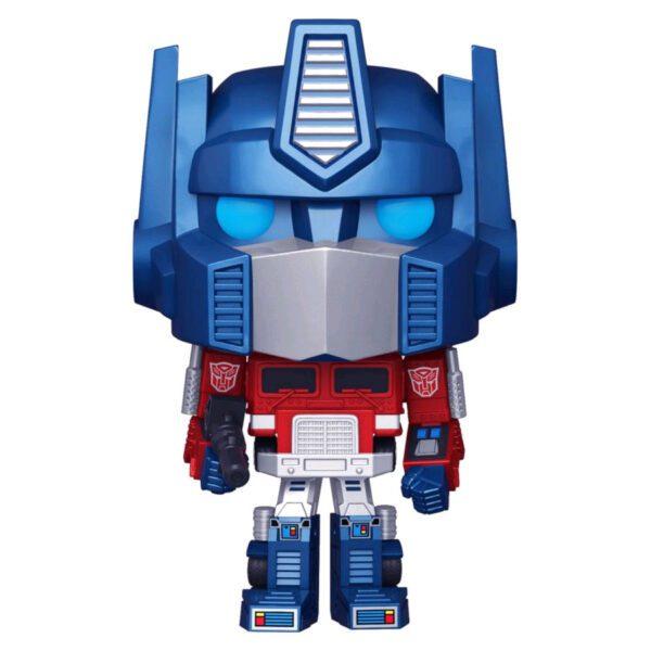 Transformers (1984) - Optimus Prime Metallic Pop! Vinyl Figure
