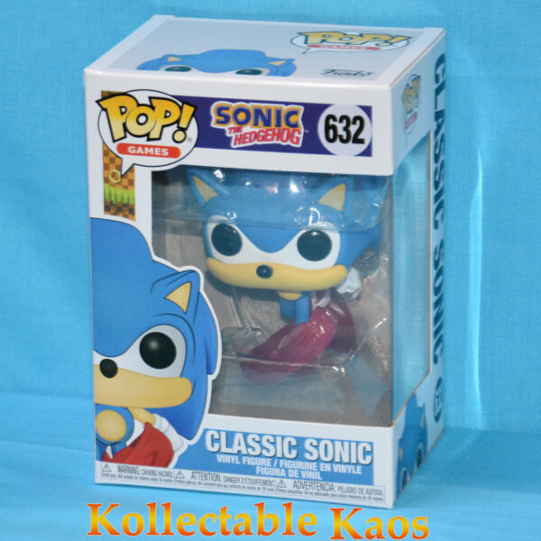 Sonic the Hedgehog - Sonic Running 30th Anniversary Pop! Vinyl Figure