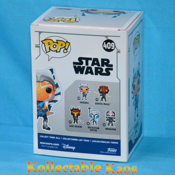 Star Wars: The Clone Wars - Ahsoka with Blue Lightsabers Pop! Vinyl Figure