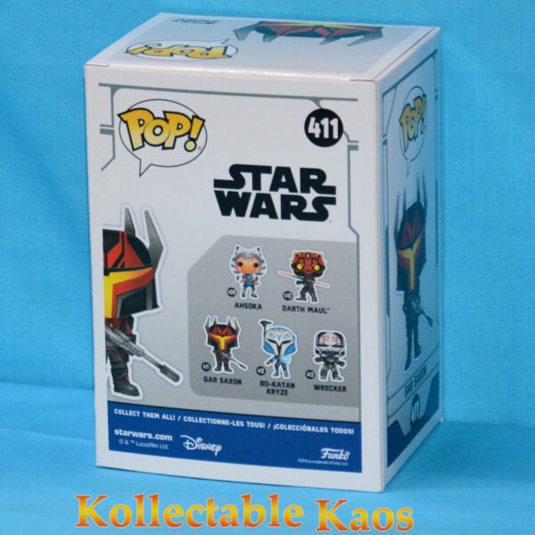 Star Wars: The Clone Wars - Gar Saxon Pop! Vinyl Figure