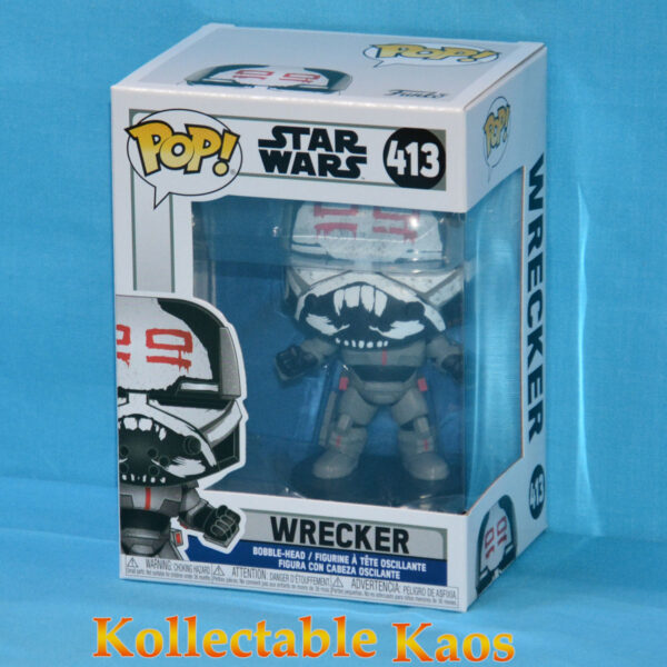 Star Wars: The Clone Wars - Wrecker Pop! Vinyl Figure