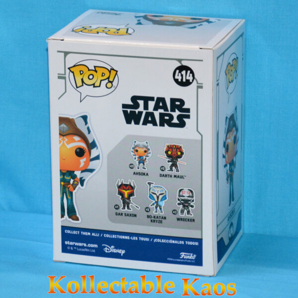 Star Wars: The Clone Wars - Ahsoka Casual Pop! Vinyl Figure