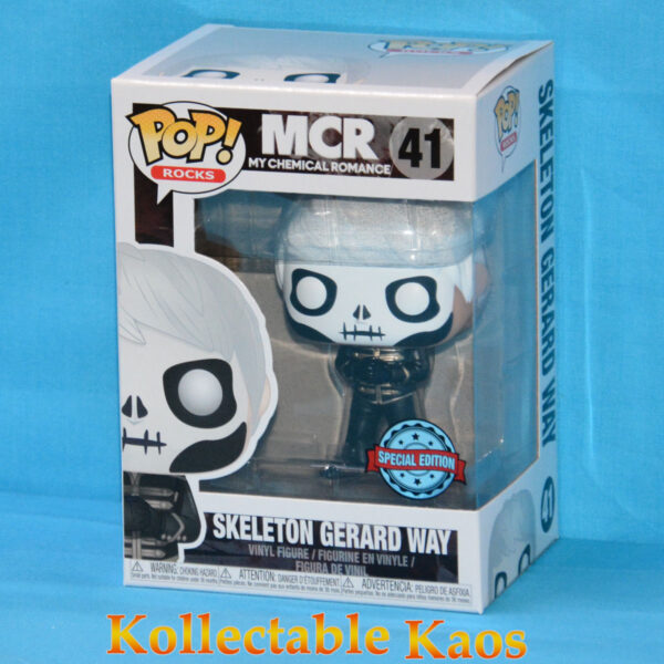 My Chemical Romance - Gerard Way Skeleton Face Pop! Vinyl Figure
