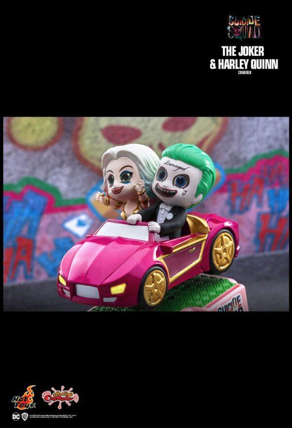 Suicide Squad - Joker & Harley Quinn Cosrider Hot Toys Figure