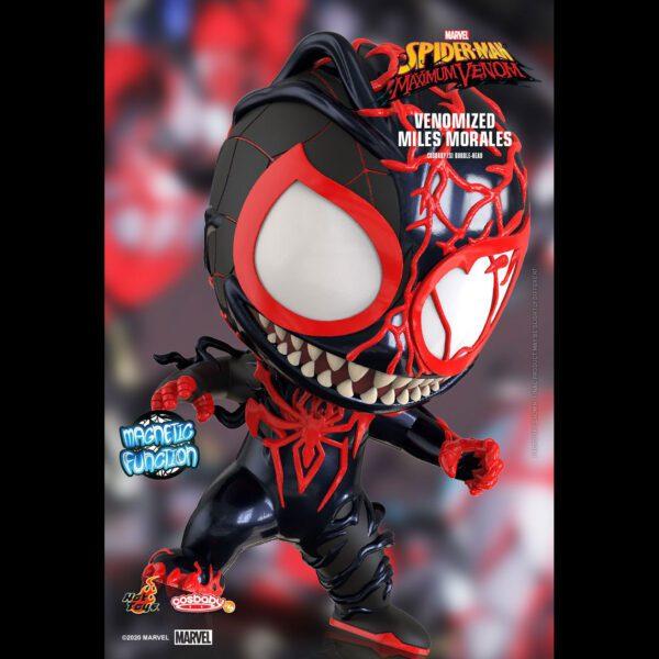 Spider-Man: Maximum Venom - Venomized Miles Morales Cosbaby (S) Hot Toys Figure
