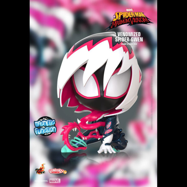 Spider-Man: Maximum Venom - Venomized Spider-Gwen Cosbaby (S) Hot Toys Figure