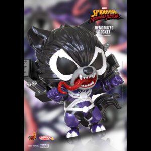 Spider-Man: Maximum Venom - Venomized Rocket Cosbaby (S) Hot Toys Figure