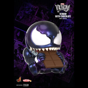 Venom - Venom with Chocolate Cosbaby (S) Hot Toys Figure