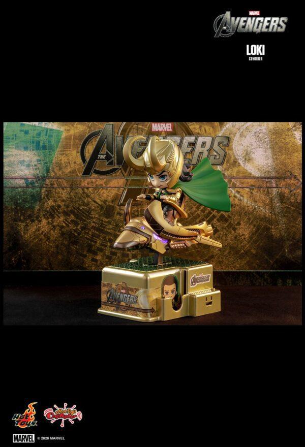 The Avengers - Loki Cosrider Hot Toys Figure