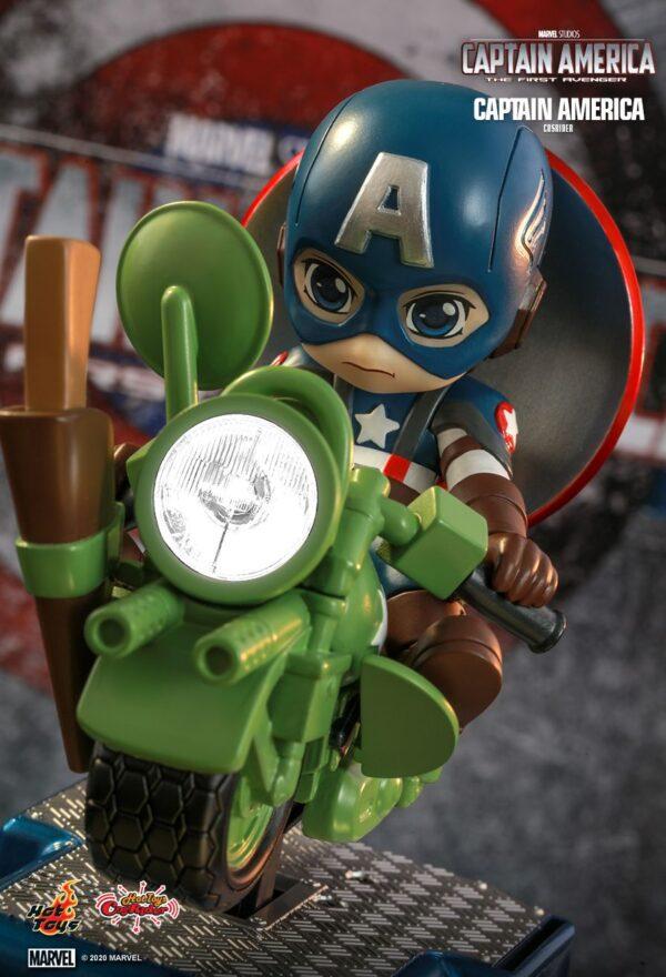 Captain America - Captain America Cosrider Hot Toys Figure
