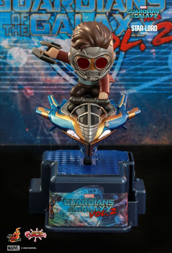 Guardians of the Galaxy: Vol. 2 - Star-Lord Cosrider Hot Toys Figure