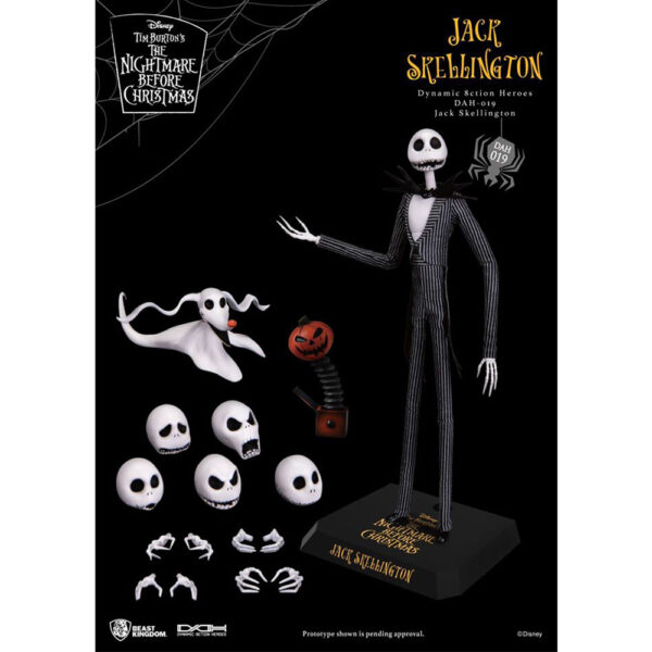 Diorama Stage - Dynamic Action Heroes The Nightmare Before Christmas Jack Skellington and Zero