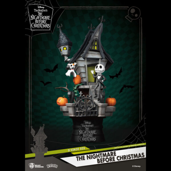 Diorama Stage - The Nightmare Before Christmas