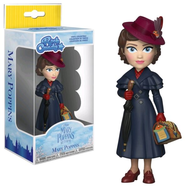 """Mary Poppins Returns - Mary Poppins Rock Candy 12.5cm(5"""") Vinyl Figure"""