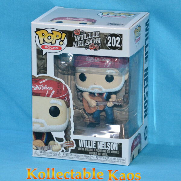 Willie Nelson - Willie Nelson Pop! Vinyl Figure