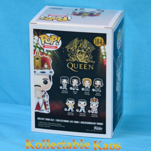 Queen - Freddie Mercury King Pop! Vinyl Figure