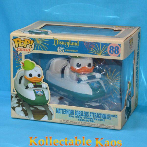 Disneyland: 65th Anniversary - Donald Duck on Matterhorn Pop! Rides Vinyl Figure