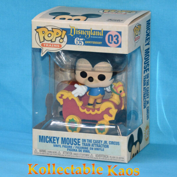 Disneyland: 65th Anniversary - Mickey Mouse in Train Carriage Pop! Vinyl Figure