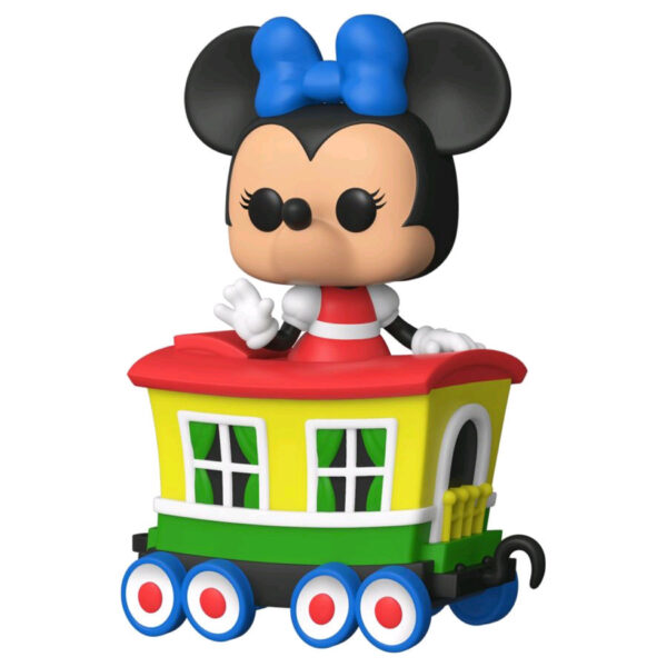 Disneyland: 65th Anniversary - Minnie Mouse in Train Carriage Pop! Vinyl Figure