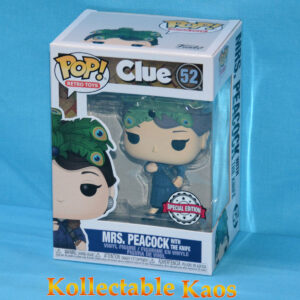 Clue - Mrs Peacock with Knife Pop! Vinyl Figure