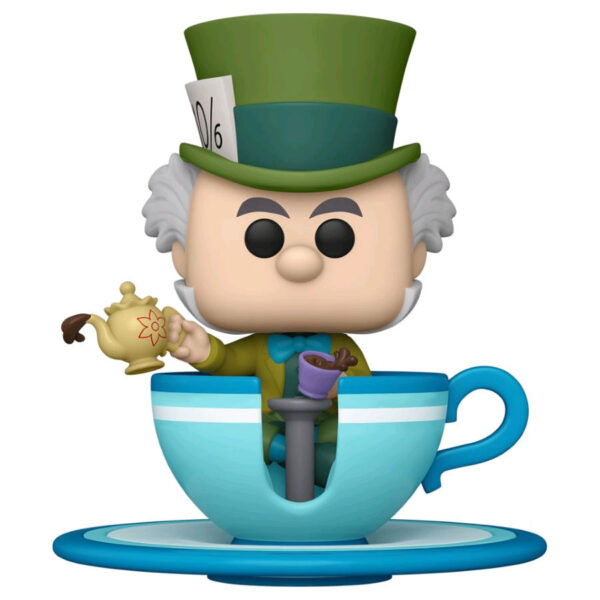 Disneyland: 65th Anniversary - Mad Hatter in Teacup Pop! Rides Vinyl Figure