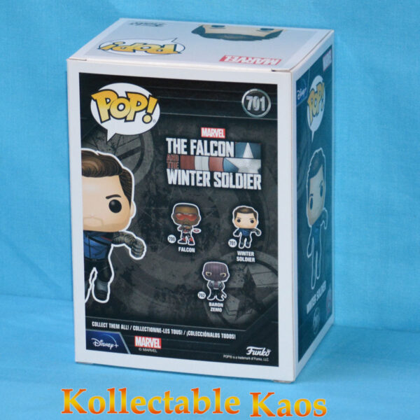The Falcon and the Winter Soldier - Winter Soldier Pop! Vinyl Figure