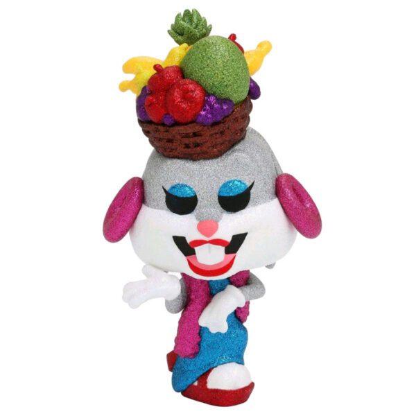 Looney Tunes - Bugs Bunny with Fruit Hat Diamond Glitter 80th Anniversary Pop! Vinyl Figure