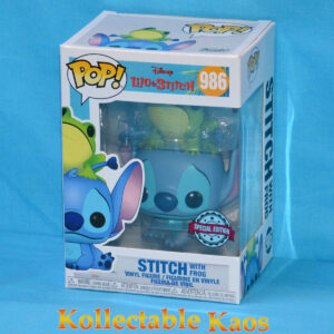 Lilo & Stitch - Stitch with Frog Pop! Vinyl Figure