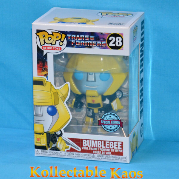 Transformers (1984) - Bumblebee with Wings Pop! Vinyl Figure