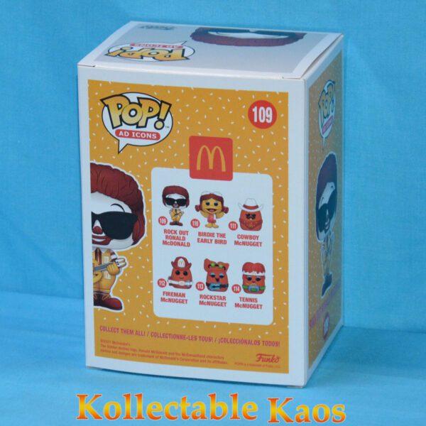 Ad Icons - McDonald's - Ronald McDonald Rock Out Pop! Vinyl Figure