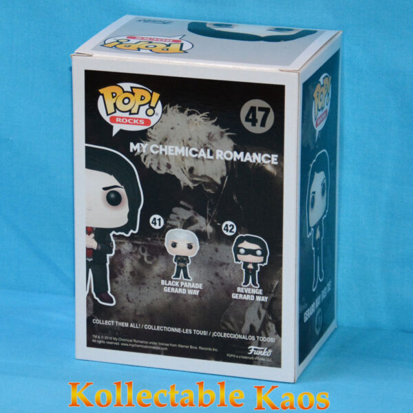 My Chemical Romance - Gerard Way with Red Tie Pop! Vinyl Figure