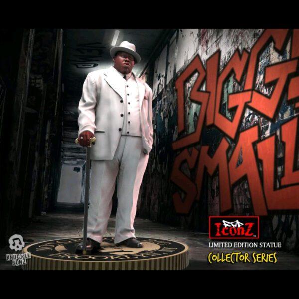 Notorious B.I.G. - Biggie Smalls Rock Iconz Statue