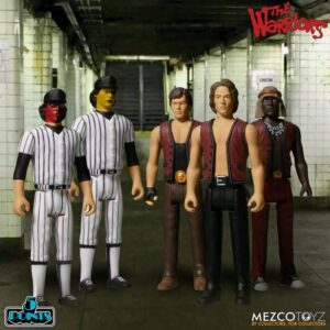 """The Warriors - The Warriors 5-Points 9cm(3.75"""") Action Figure 5-Pack"""