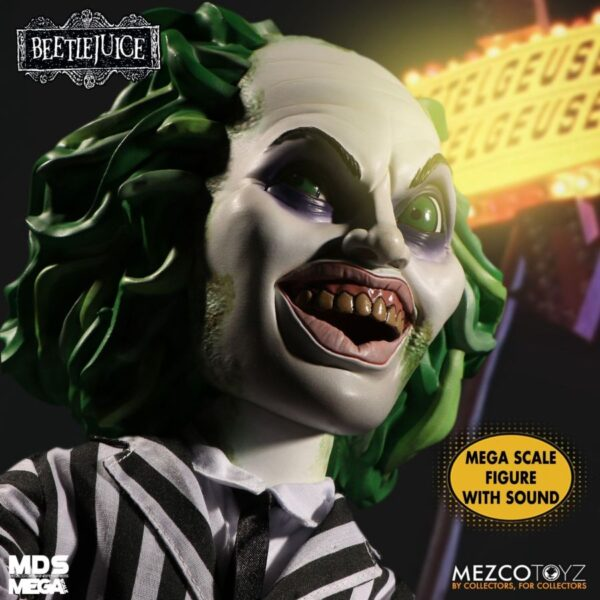 "Beetlejuice - Beetlejuice 38cm(15"") Mega Scale Action Figure"