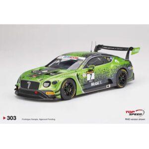 1:18 2020 Bathurst 12Hr Winner - Bentley Continental GT3 - #7 Gounon/Pepper/Soulet
