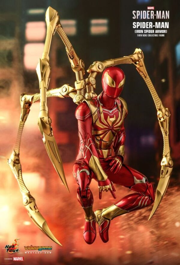 Marvel's Spider-Man (2018) - Spider-Man Iron Spider Armour 1/6th Scale Hot Toys Action Figure