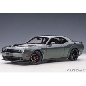 1:18 2018 Dodge Challenger SRT Hellcat Widebody - Destroyer Grey