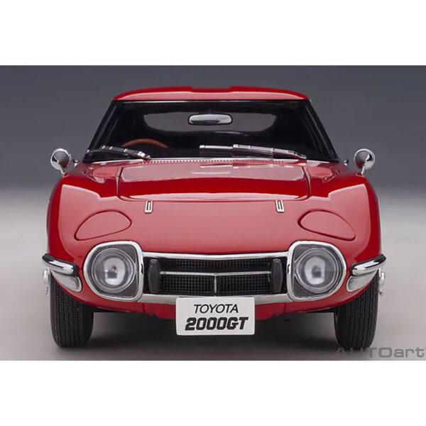 1:18 Toyota 2000GT - Red w/ Wire Wheels