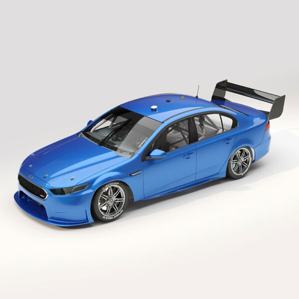 1:18 Ford FGX Falcon Supercar - Kinetic Blue Plain Body Edition